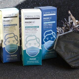 Con las mascarillas, muchas estamos sufriendo irritaciones en la piel (por humedad, contacto con el tejido, roce...). ¿Solución a ello? Sencilla: MASKNÉ. Varios productos para poner antes, durante o después. Crean una barrera que protege de las agresiones, repara e hidrata la piel.