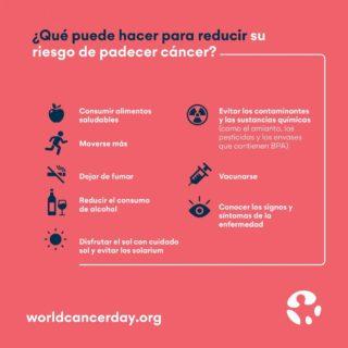 Hoy es un día importante, ¡el Día Mundial Contra el Cáncer! Y no es motivo de alegría, sino un motivo de lucha. Seguimos peleando por reducir la mortalidad, por hacer que se puedan curar todos los tipos de cáncer, y para eso OS NECESITAMOS: podéis ayudar donando dinero, colaborando como voluntarios, difundiendo la importancia de la labor de asociaciones como la AECC... ¡hay mil formas!