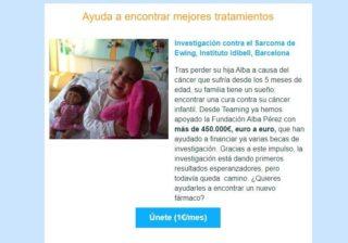 De nuevo nos enfrentamos a un día muy muy importante, el cual nunca debería haber existido pero por desgracia toca trabajar en ello: el Día contra el Cáncer Infantil. Se diagnostican al año 1.400 niños y niñas con cáncer en España, pero tienen acceso a pocos tratamientos específicos y se enfrentan a secuelas importantes en muchos casos. ¡Ayuda a la investigación y a las causas que pelean duro! Por ello os dejamos un enlace en el link de la bio, a @teaming_stories , una plataforma de pequeñas donaciones de 1€ al mes con varias causas relacionadas, os animamos a elegir alguna de ellas y sumar vuestro granito de arena ❤️